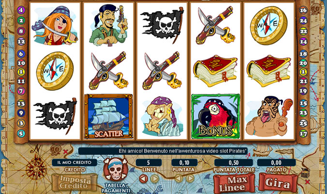 slot machine pirates millions